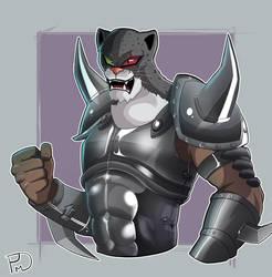 Armor King II by PringusMcDingus