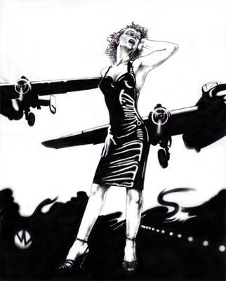 Marilyn and the Bombers by MonsterMansion