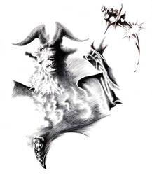 Goathead Sacrifice by MonsterMansion