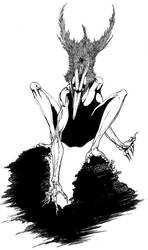 Bird God by MonsterMansion
