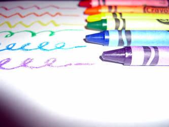 Crayons by SinfulEyes
