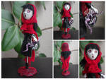 Gothic doll Little red riding hood. by Lauramei