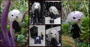 Gothic Art Doll: Desazon, the demon of the sadness by Lauramei