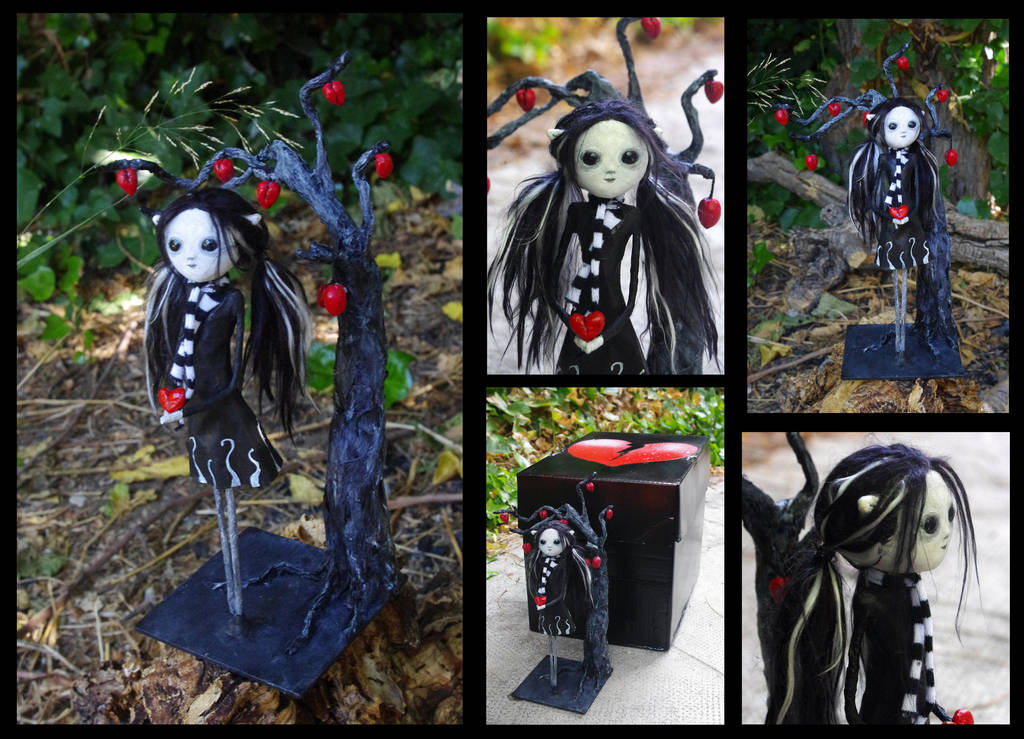 Art Doll: Polen, the broken hearts garden keeper by Lauramei