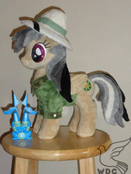 Daring Do, second time around, all in minky by WhiteDove-Creations
