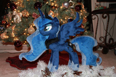 Merry Christmas from Luna by WhiteDove-Creations