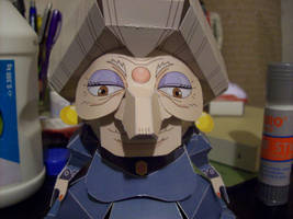 Yubaba Papercraft 1 by chinga