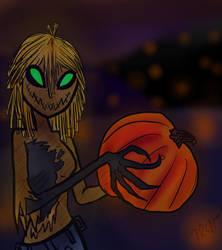 Pumpkin patch by InkyWings