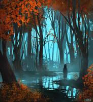 Through the fog by Lauren-Cova