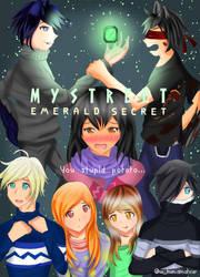 Aphmau MyStreet Emerald Secret Fanart Poster by w-kuntheamateur