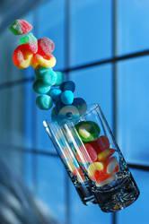 Flying Candy by klaramara