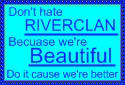 RiverClan Fan Stamp by Greenpandagirl
