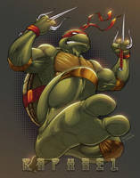 Raphael TMNT by Sajad126