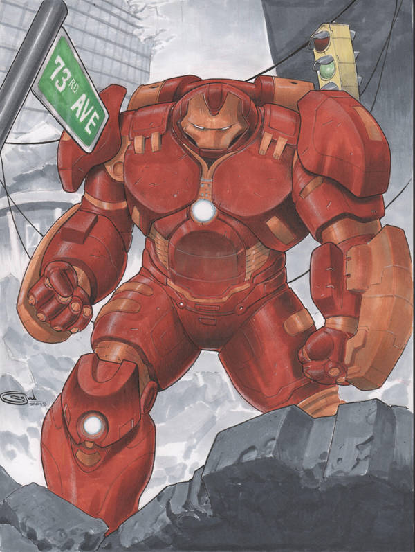 HUlkBuster Commission by Sajad126