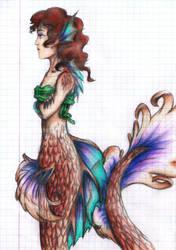 Mermaid by Arnethiel