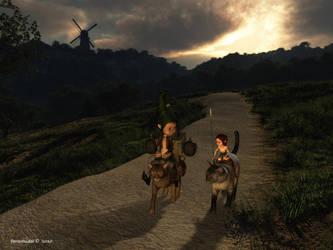 Donna Quixote by faroutsider