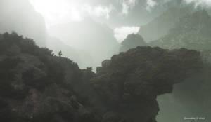 Bridge to the vast unknown by faroutsider
