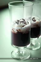 chocolate pudding by KowalskiEmil