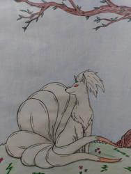 My mothers Ninetales. by Sakura-of-Zendikar