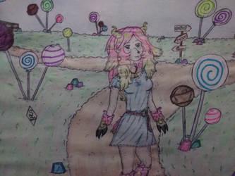 Meet Pinkie, the sheep by Sakura-of-Zendikar
