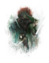 The Legend of Zelda by Alex-Chow