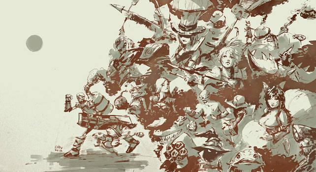League of Legends by Alex-Chow