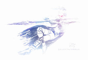 Vayne, the Night Hunter (June 23rd, 2013) by Alex-Chow