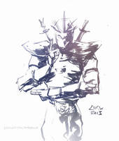 Shen, Eye of Twilight (October 10th, 2013) by Alex-Chow