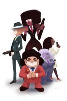 Steven's Gangsters (Steven Universe) by Alex-Chow