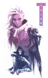 Sombra Gear Solid (Overwatch) by Alex-Chow