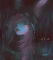 Xayah (League of Legends) by Alex-Chow