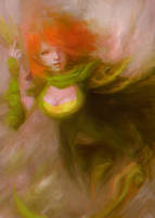 Lyralei the Windranger (DOTA 2) by Alex-Chow