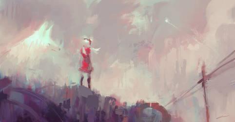 Dreams from the Junkyard (Original) by Alex-Chow
