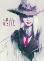 Red Dead Ashe (OVERWATCH) by Alex-Chow