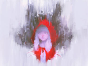 Red Riding Hood (Procreate - COMMISSION) by Alex-Chow