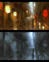 Street Light (ORIGINAL) by Alex-Chow