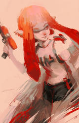 Inkling (Splatoon) by Alex-Chow