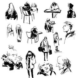 Sketch Compilation Jan 26 2019 by Alex-Chow