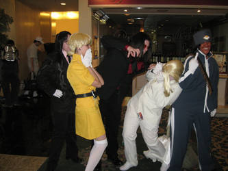 Hellsing: Alucard Attack by ladyviolathornhaven
