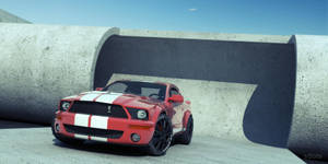 Ford Mustang Shelby GT500 by sdots