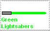 Green Lightsaber Fan by RyanPhantom