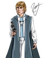 Senator Luke Skywalker by HoneyJadeCrab