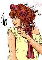 Lily Evans by HoneyJadeCrab