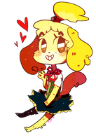 AC:Isabelle by pikagirl65neo
