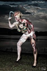 Bodypainting Competition Horror by seekorka