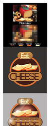 Eat Cheese Logo Idea by XMidoZ