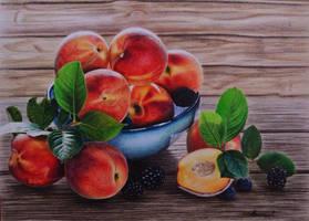 Peaches by PutyatinaEkaterina