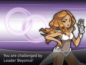 [POP GYM Leaders] Beyonce by Brex5