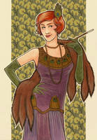 Art Trade - 1920s Lady by Velven