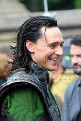 Loki on the Avengers set by HarmonyB2011